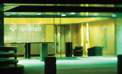commercial photograph of randstad hq usa