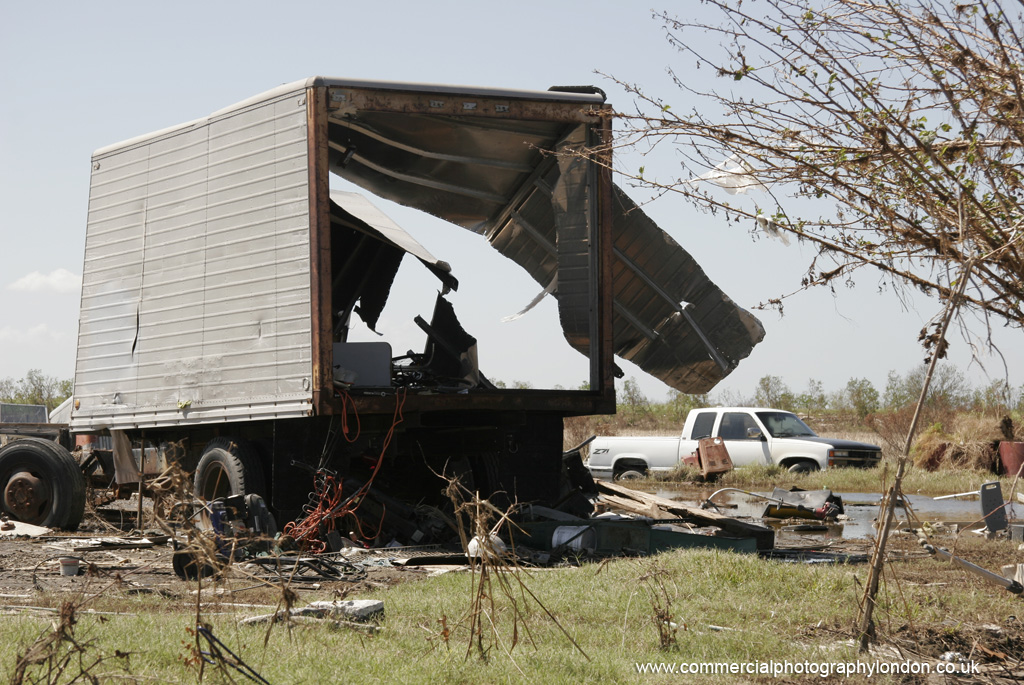 stock photo Katrina storm damage 2914